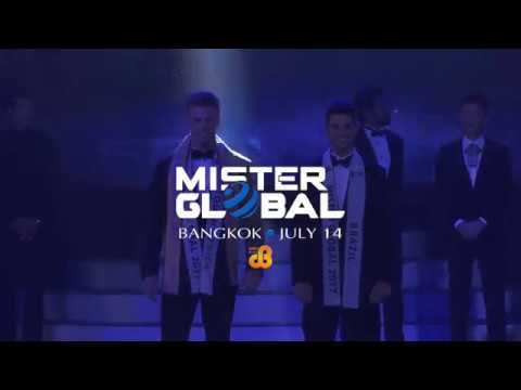Mister Global contest 2018 will be held in Bangkok and broadcast live on July 14.